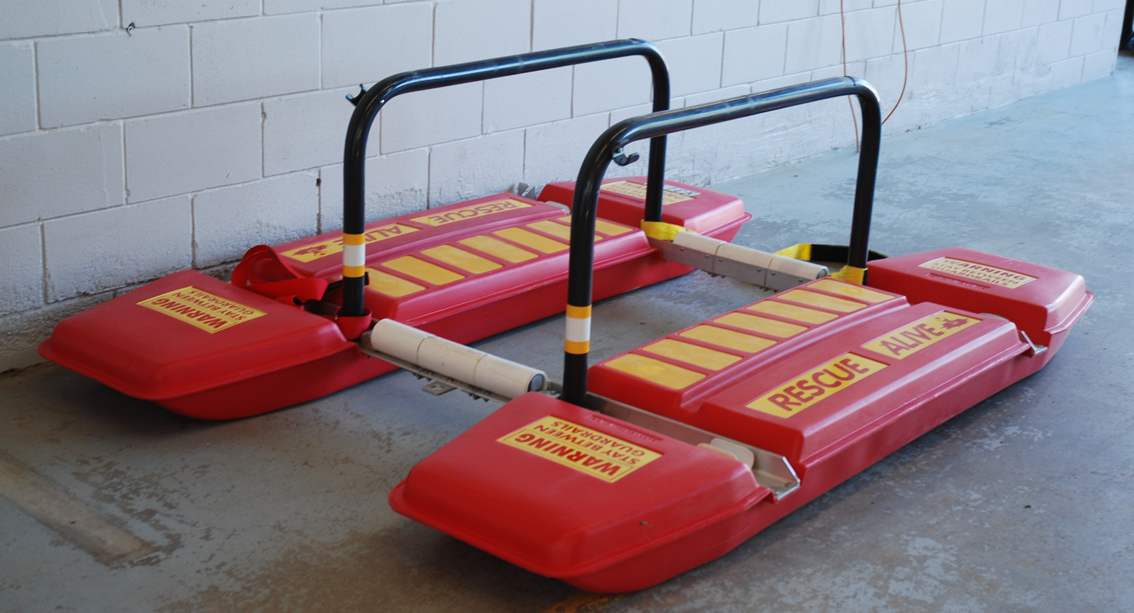 Ice Water Rescue Sled