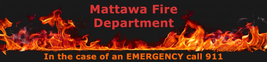 Mattawa Fire Department Header Image