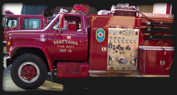 Mattawa Fire Truck No 4
