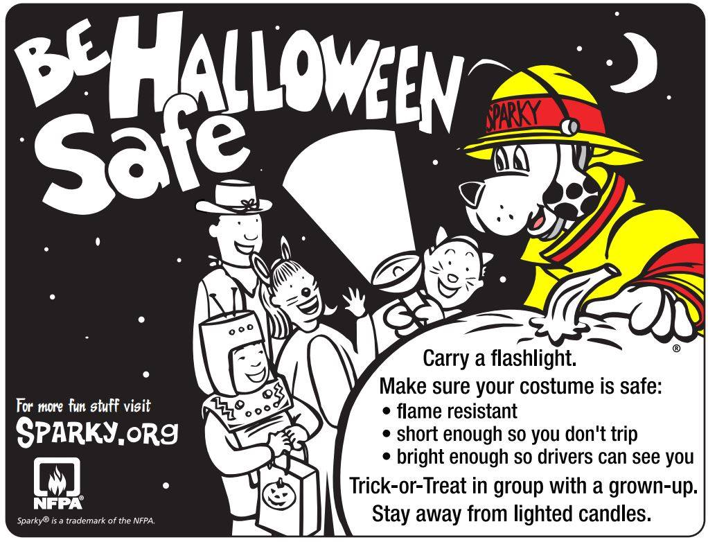 Halloween Fire Safety Tips!