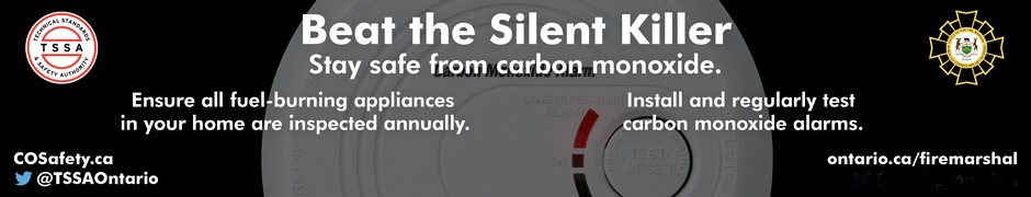 This Week is Carbon Monoxide Awareness Week: November 1–7, 2018!