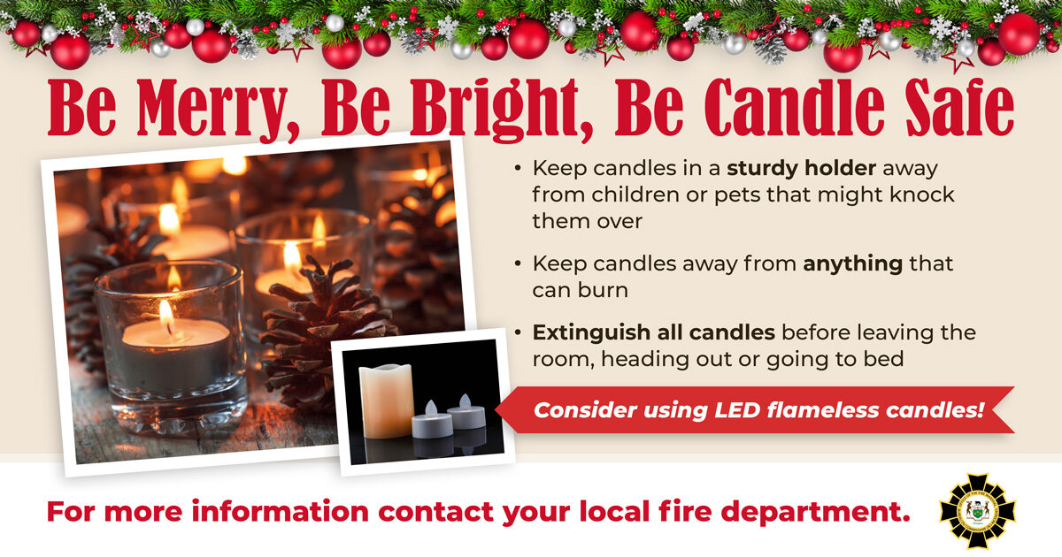 Be Candle Safe