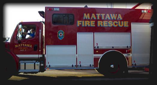 Mattawa rescue van